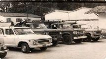 História da formação do corpo de bombeiros de Mairinque na década de 70
